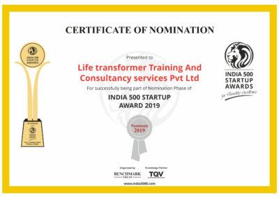 India5000_Nomination_Certificate